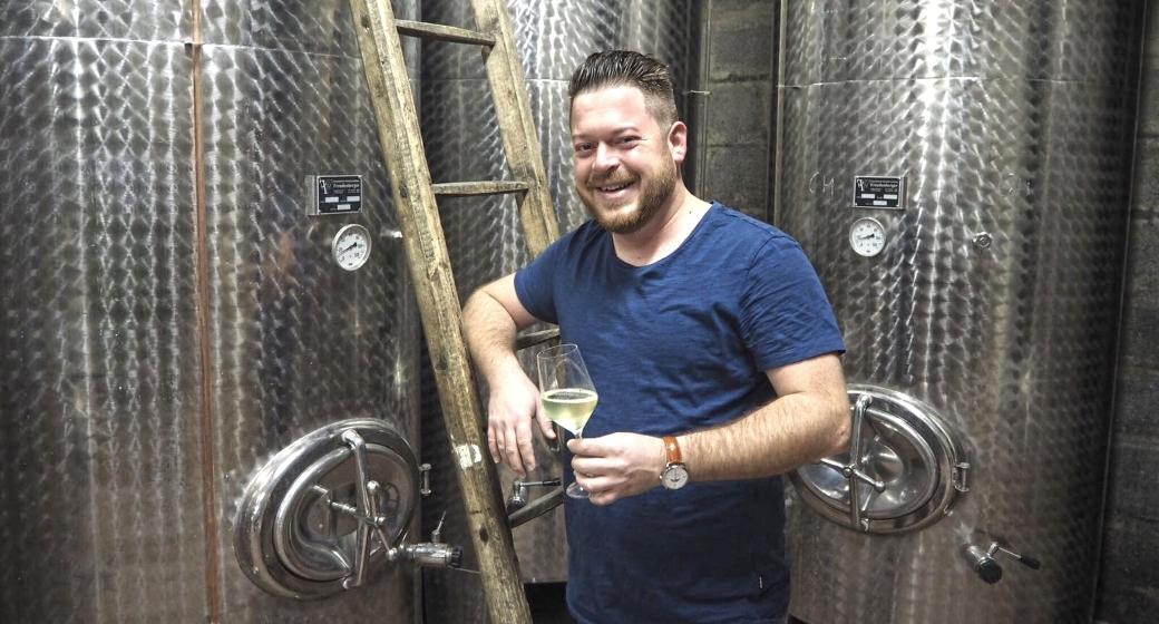 Weingut Fabian Sloboda Podersdorf am See Weinkeller Wein