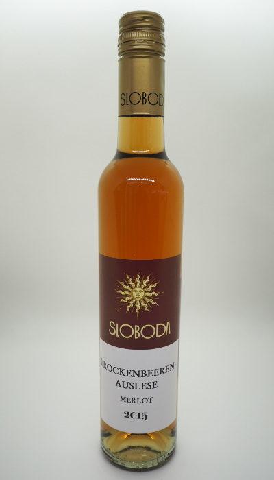 Trockenbeerenauslese Merlot 2015 Wein Süßwein
